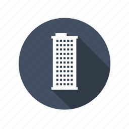 building, construction, flats, home, house, office, real estate, tower icon