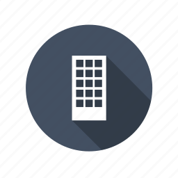 building, home, house, office, tower, work icon