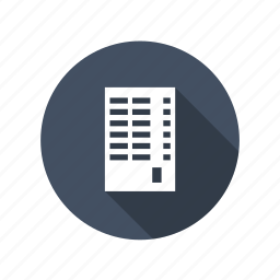 apartment, building, business, downtown, flats, house, office, tower, work icon