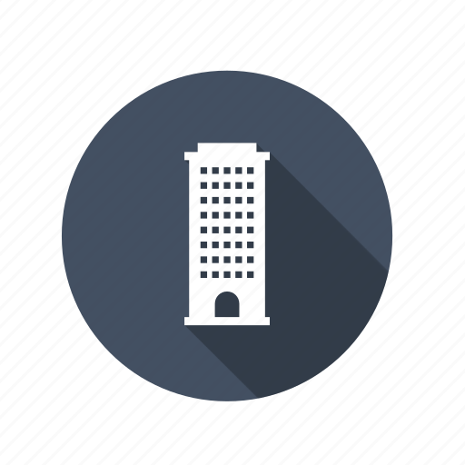 apartment, building, corporation, flats, home, house, office, tower, work icon