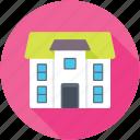lodge, mansion, dwelling house, palace, villa icon