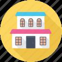 dwelling house, lodge, mansion, palace, villa
