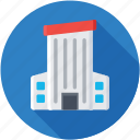 architecture, building exterior, office block, real estate, skyscraper icon