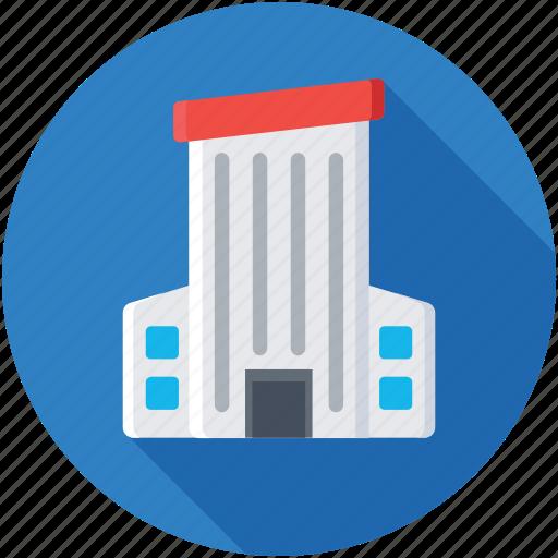 architecture, building exterior, office block, real estate, skyscraper icon