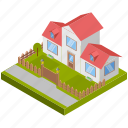 house, cottage, residence, home, building icon