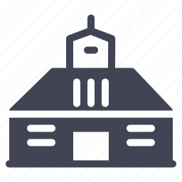 architecture, building, construction, estate, house, property icon