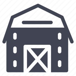agriculture, architecture, barn, building, construction, house icon