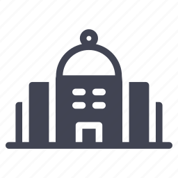 building, construction, dome, estate, property, real icon