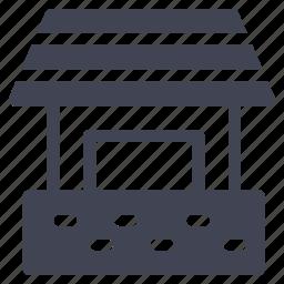 architecture, construction, equipment, garage, house icon
