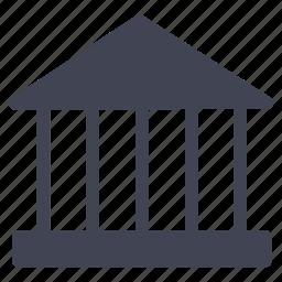 architecture, building, construction, estate, law, property icon