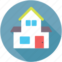 country estate, countryside, farmhouse, homestead, rural house icon