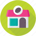 cafe, coffee shop, eatery, pizzeria, restaurant icon