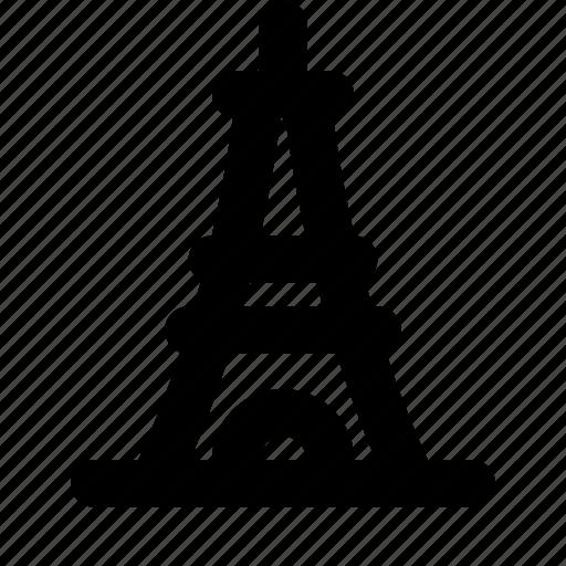 building, city, eiffel, france, paris, tower, travel icon