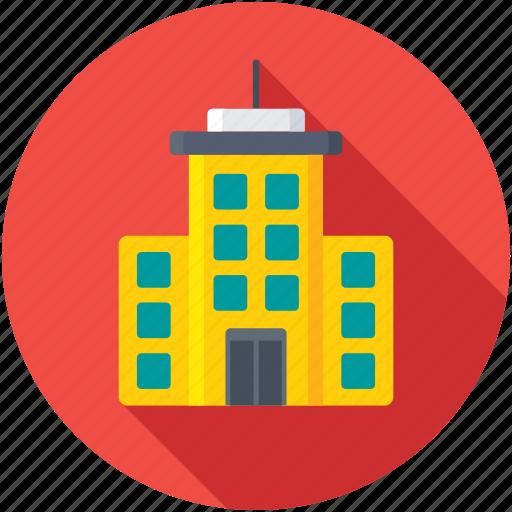 apartments, city building, city skyline, flats, skyscraper icon