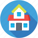 cabin, cottage, hut, shack, villa icon