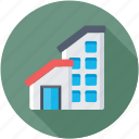 architecture, building exterior, home and office, real estate, skyscraper icon