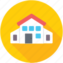 godown, storage unit, store, storehouse, warehouse