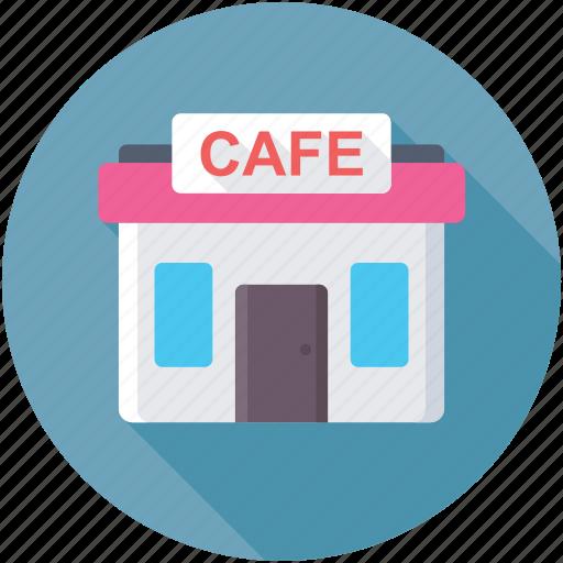 cafe, coffee house, eatery, pizzeria, restaurant icon