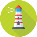 beacon, building, lighthouse, navigational aid, tower icon