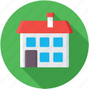 family house, lodging, mansion, palace, villa icon