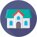 luxury house, mansion, palace, royal palace, royal residence icon
