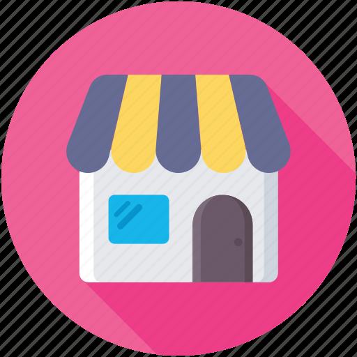 market, shop, store, storefront, super store icon