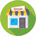 market, shop, store, storefront, super store icon