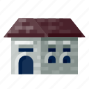 architecture, building, business, city, construction, home, office icon