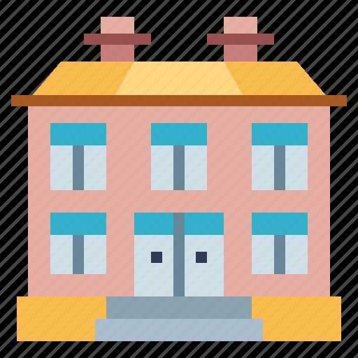 apartment, building, houses, skyscraper icon