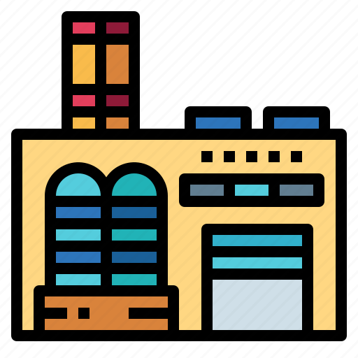 Buildings, factory, industry, office icon - Download on Iconfinder