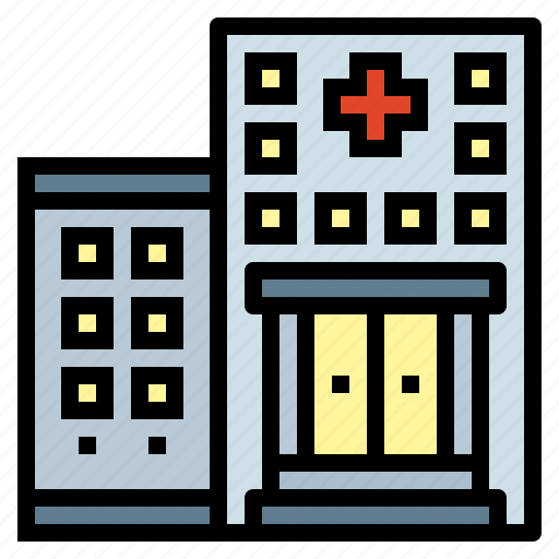 building, health, hospital, medical icon