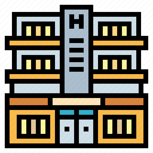 Buildings, hotel, resort, trip icon - Download on Iconfinder
