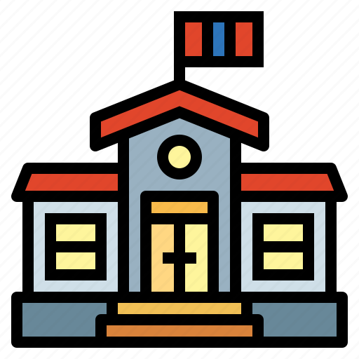 College, education, high, school icon - Download on Iconfinder