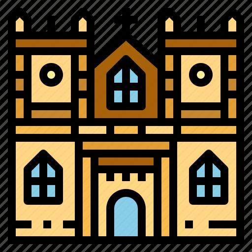 abbey, landmark, london, westminster icon