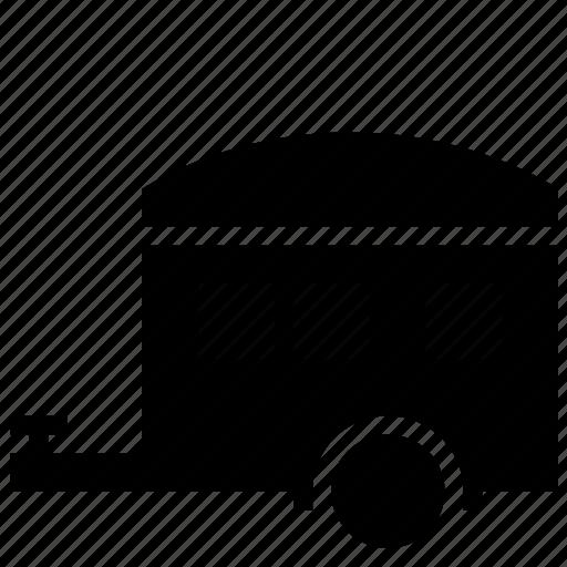 car, caravan, home, house, transportation, vacation, vehicle icon