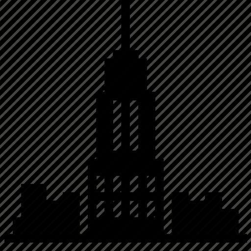 building, city, metropolis, office, skyscraper, tower icon