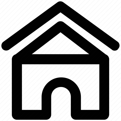 building, cottage villa, home, house, hut, shack icon