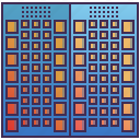 apartment, building, business, condo, enterprise icon