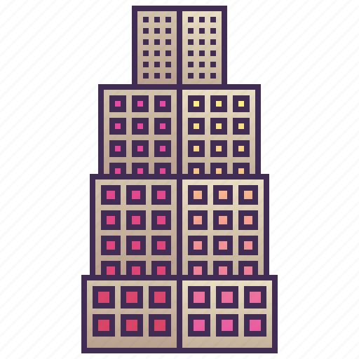 building, city, company, enterprise, skyscraper icon