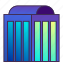 bank, building, company, enterprise, headquarter icon