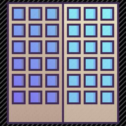 building, business, company, enterprise, headquarter icon