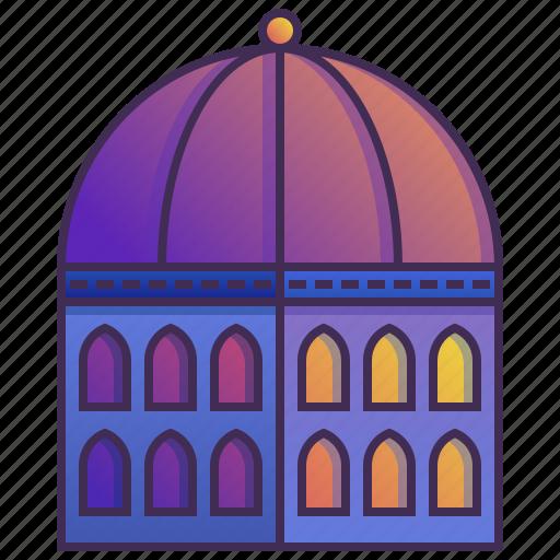 building, company, dome, enterprise, headquarter icon