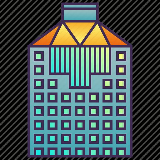 building, company, enterprise, headquarter, office icon