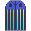 building, church, company, enterprise, headquarter, skyscraper icon