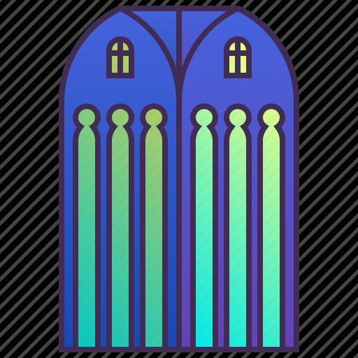 building, church, company, enterprise, headquarter, skyscraper icon