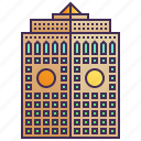 building, cityscape, company, enterprise, headquarter, skyscraper icon