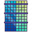 building, company, enterprise, headquarter, square icon