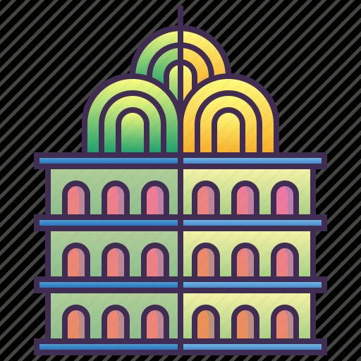 building, city, enterprise, landmark, old icon
