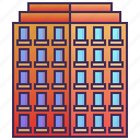 apartment, building, condo, enterprise, resident icon