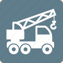 arm, crane, heavy objects, machine, metal, moving icon
